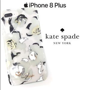 Kate Spade Airbrush Floral iPhone 6 7 8 PLUS Case